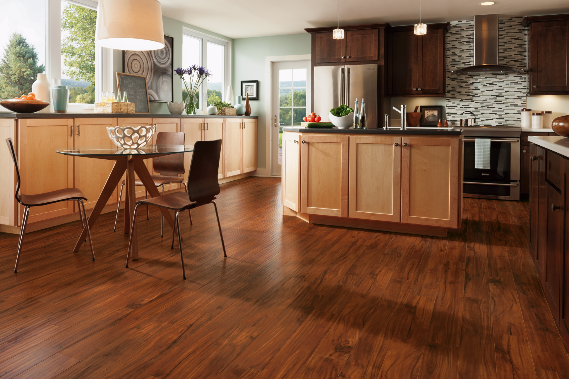 Buy quality wooden granite look pvc kitchen vinyl flooring in dubai abu dhabi