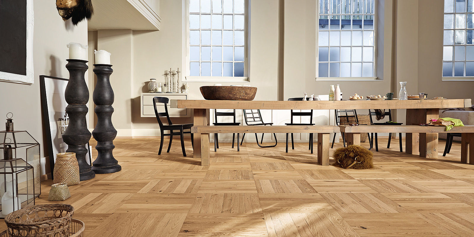 Best Laminate Wooden Square Parquet Flooring In Dubai Abu Dhabi Uae